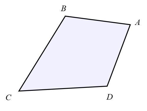 Quadrilateral B A D C.